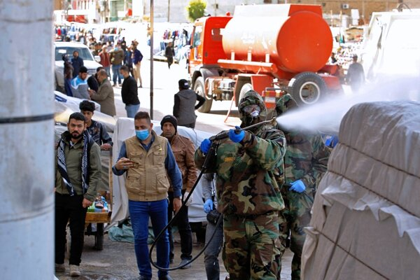 Opatrenia proti šíreniu koronavírusu v Iraku - ilustračná fotografia.