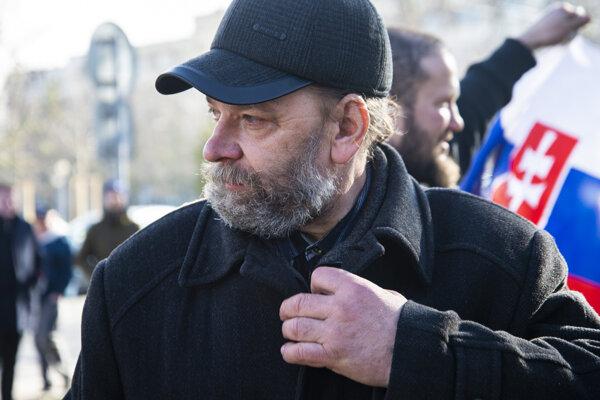 Predseda Únie autodopravcov Slovenska (UNAS) Stanislav Skala.