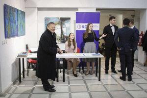 Voľby 2020: Volebná centrála KDH.