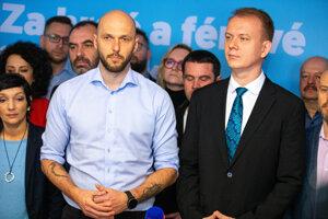 Truban a Beblavý z PS-Spolu hodnotia voľby 2020.