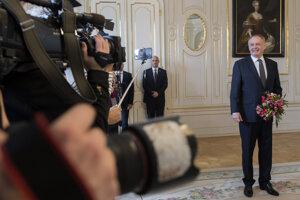 Voľby 2020: Stretnutie predsedu Za ľudí Andreja Kisku s prezidentkou Zuzanou Čaputovou.