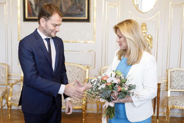 Voľby 2020: Prezidentka Čaputová prijala víťaza volieb Matoviča a poverí ho zostavením vlády.