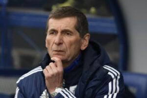 Tréner FK Poprad Jaroslav Belejčák.