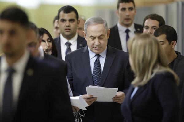 Vo voľbách zvíťazila strana Likud premiéra Benjamina Netanjahua.