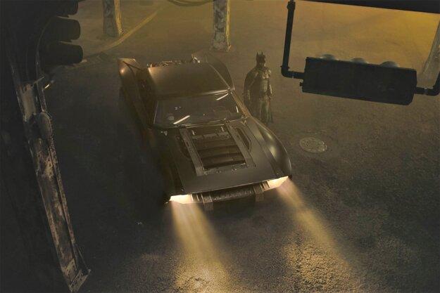 V najnovšom filme o netopierom mužovi sa objaví batmobil s retro dizajnom