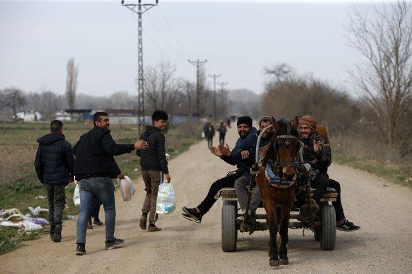 Utečenci v tureckom Edirne.