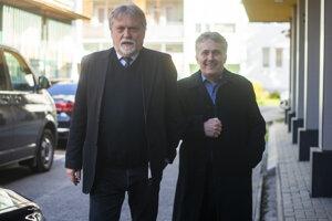 Zľava Dušan Jarjabek a Ľubomír Petrák.