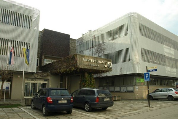 Mestský úrad v Trnave.