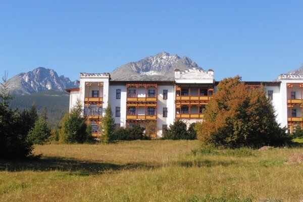 Sanatórium Dr. Guhra v Tatranskej Polianke.