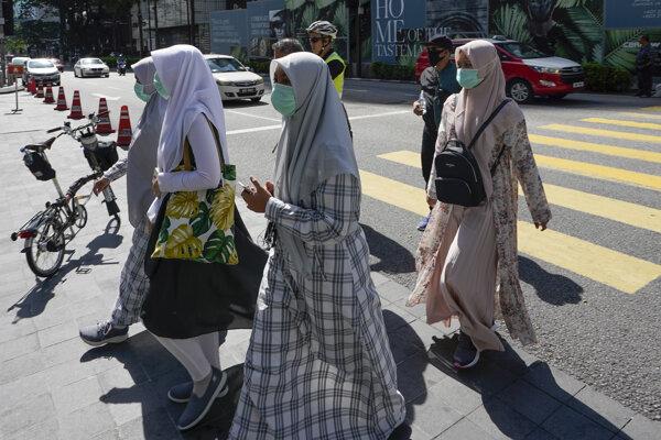 Obyvateľky Kuala Lumpur.
