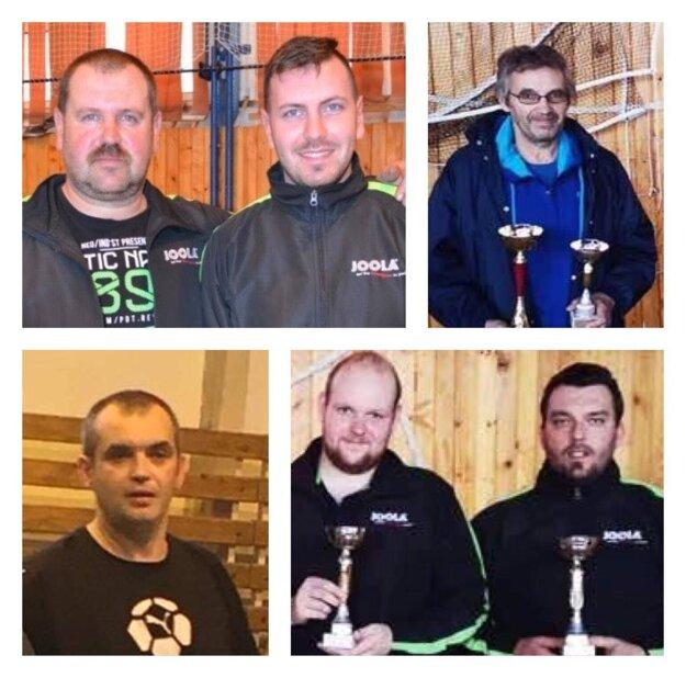 Horný rad zľava: Szabó Andrej ml., Szabó Viktor, Kovács Attila. Dolný rad zľava: Molnár Peter, Czompál Patrik , Apa Olivér.