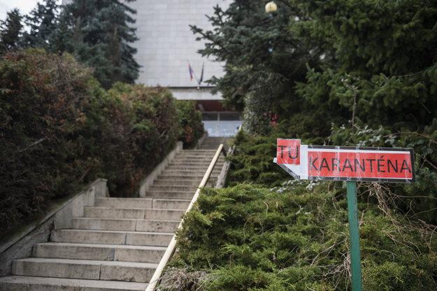 Karanténne centrum v Dúbravke.