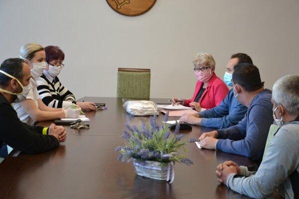 Na tomto stretnutí kompetentní riešili situáciu na Podskalke.