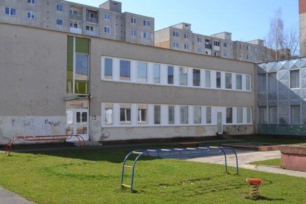 Materská škola Partizánska na sídlisku Pod Sokolejom.