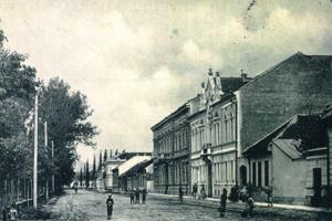 Obrázok z dnešnej Moyzesovej ulice.