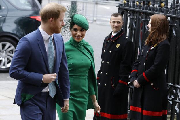Princ Harry a jeho manželka Meghan.