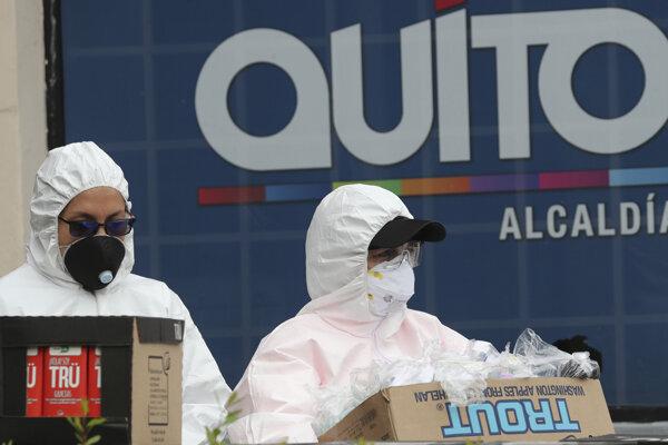 Márnice v metropole nezvládajú nápor obetí koronavírusu
