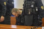 Miroslav Marček v priebehu pojednávania na Špecializovanom trestnom súde.