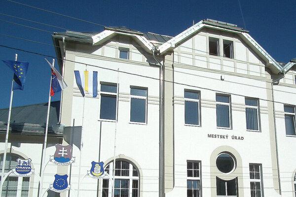 Mestský úrad v Trstenej.