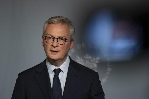 Francúzsky minister financií Bruno Le Maire.