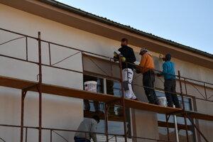 Rekonštrukcia jedného z kultúrnych domov.