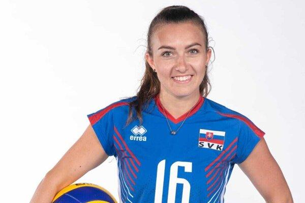 Volejbalistka Skarleta Jančová pochádza z Kalnej nad Hronom.