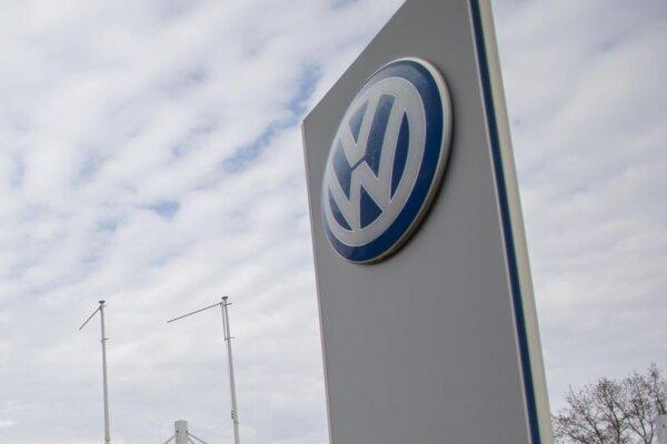 Logo automobilky Volkswagen.