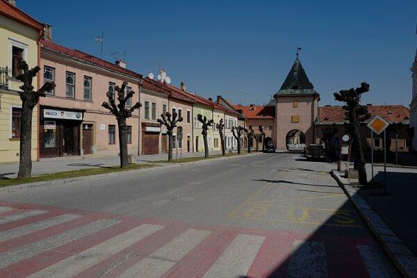 Vyľudnená Levoča.