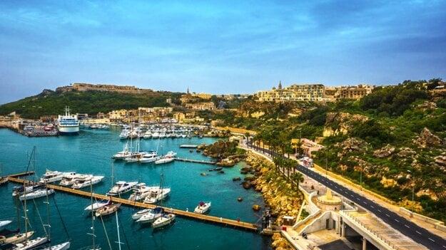 Prístav v Gozo