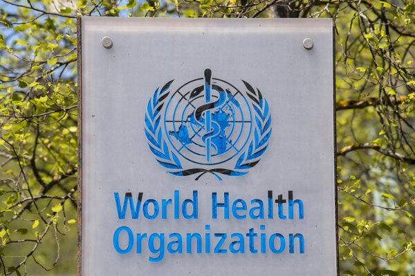 Logo Svetovej zdravotníckej organizácie.