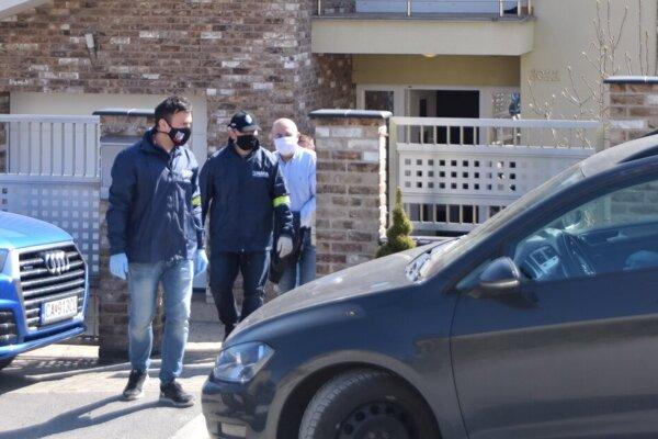 NAKA zasahovala aj v dome u bývalého šéfa SŠHR Kajetána Kičuru