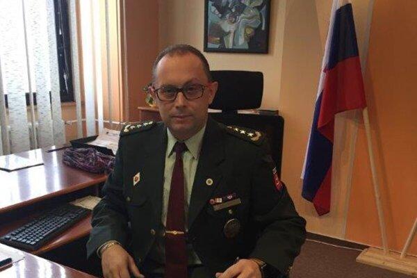 Krajský policajný riaditeľ Radoslav Fedor.
