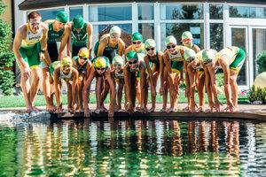 Športovci ŠK Atóm Levice sa už nevedia dočkať prípravy vo vode.