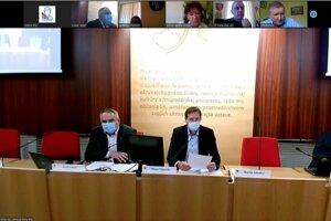 Rokovanie zastupiteľstva PSK prostredníctvom videokonferencie.
