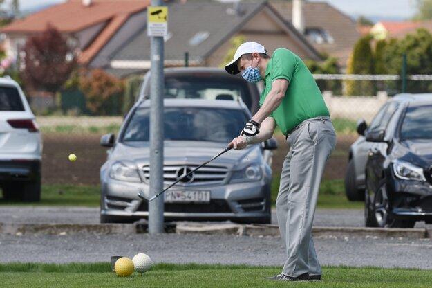 Otvorený golfový areál v Trnave.
