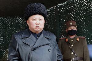 Kim Čong-un na vojenskom cvičení v marci 2020.