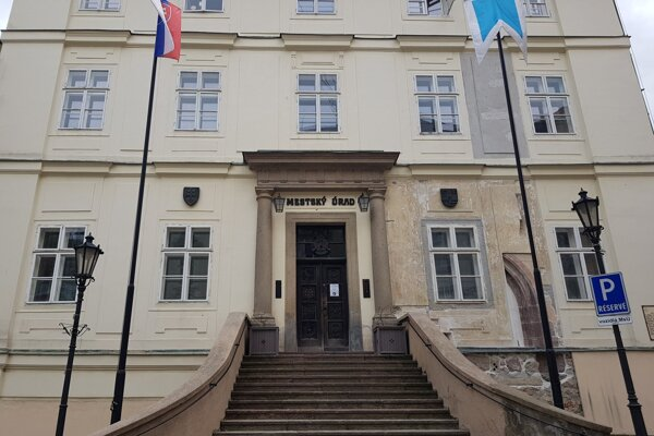 Mestský úrad v Banskej Štiavnici.