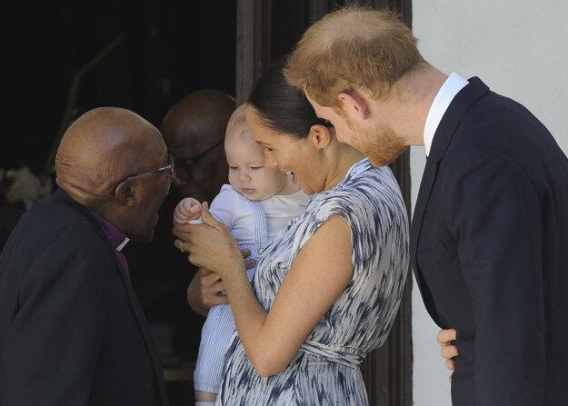 Išlo o ich prvú zahraničnú cestu od narodenia prvého spoločného potomka Archieho.