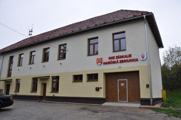 Hasičská zbrojnica v Dolnom Kubíne - Záskalí.