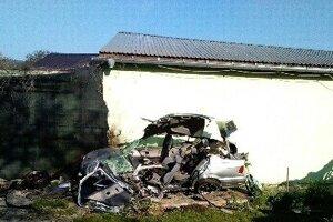 Tragická nehoda v Trenčianskych Miticiach.