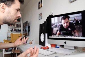 Počas koronakrízy natočil Andrej Palko aj vyše dvadsať častí hereckého trenažéra.
