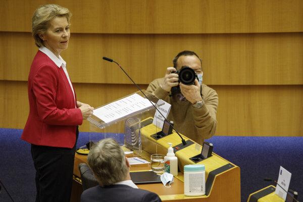Šéfka Európskej komisie Ursula von der Leyenová predstavila ozdravný balík pre Európsku úniu.