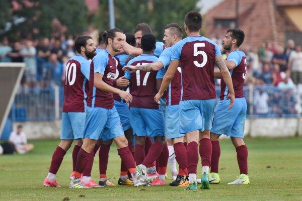 Futbalisti Trabzonsporu.