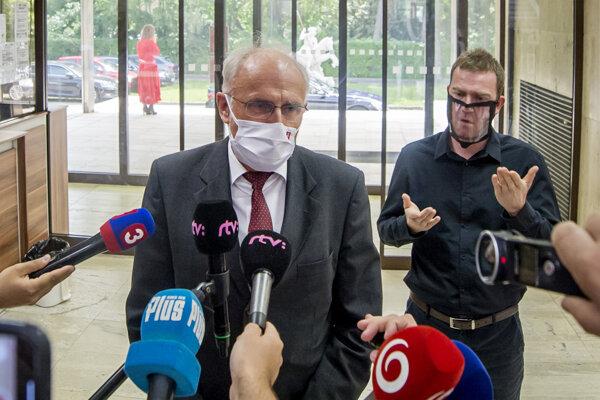 Minister pôdohospodárstva a rozvoja vidieka SR Ján Mičovský.