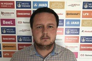 Manažér MŠK Púchov Marek Šimáček.