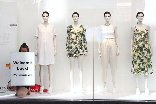 Predajňa H&M - ilustračná fotografia.