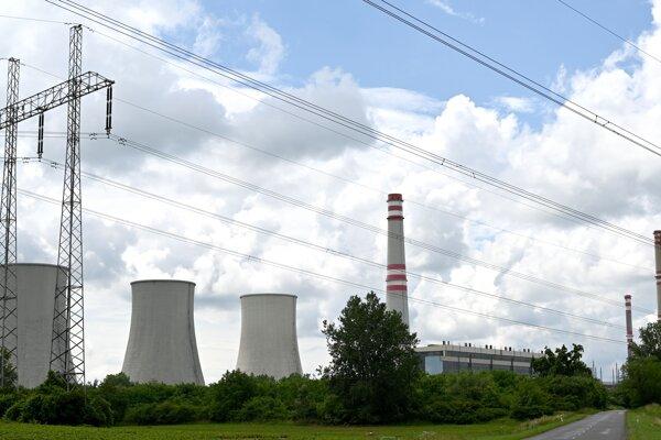 Elektráreň Vojany.