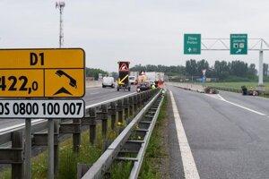 Nehoda na diaľnici.