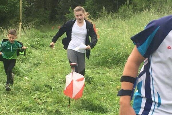 Domáca pretekárka Laura Vaicová vyhrala náborovú kategóriu.