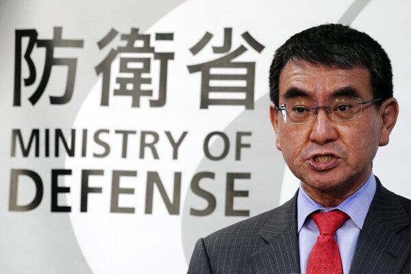 Japonský minister obrany Taró Kóno